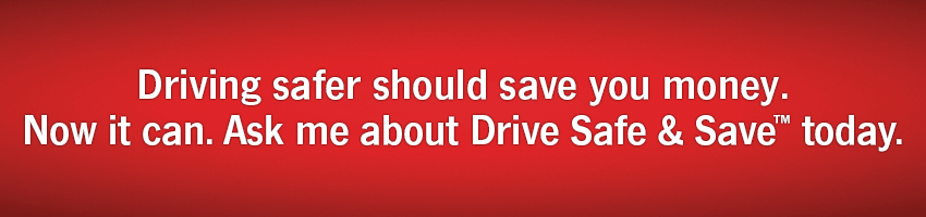 Driving safer should save you money.