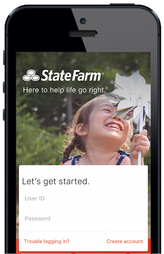 Image of State Farm mobile app
