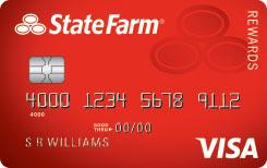 State Farm Rewards Visa selected