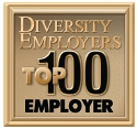 This is the Diversity Employers Award logo