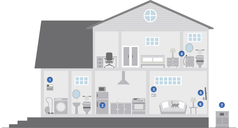 Smart House Illustration