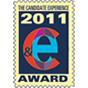 This is the Candidate Experience 2011 Award logo