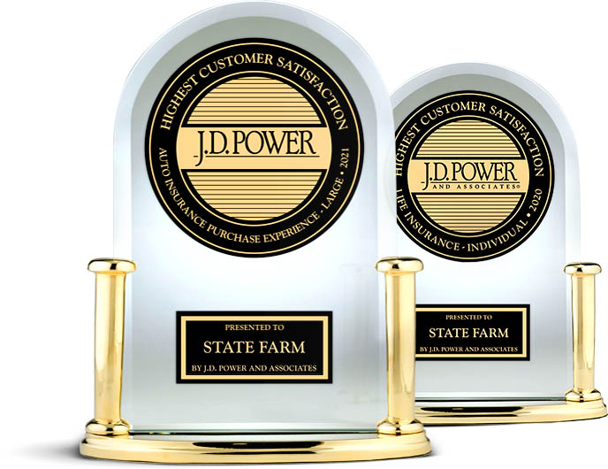 JD Power awards for auto and life insurance