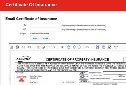 Create Certificate - Renewal Certificate Email