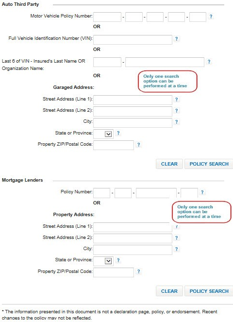 Policy Search example
