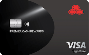 State Farm Premier Cash Rewards Visa Signature® Card. Earn double cash back on all eligible purchases up to $300 for the first year – with no annual fee
