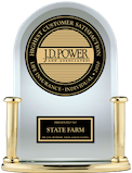 JD Power award for life insurance