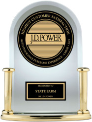 JD Power awards for auto insurance