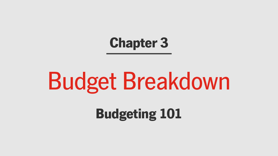 Break Down a Budget