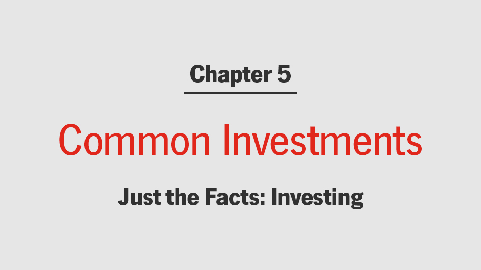 Know the Difference Between Investments