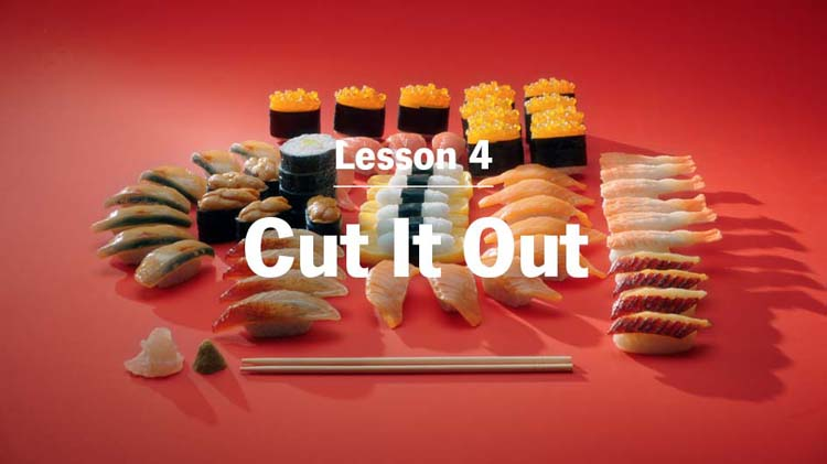 Lesson 4: Cut It Out. Limit Emotional Spending and Save.