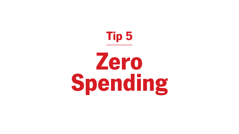 Try a Zero Spending Day