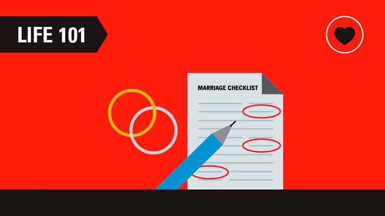 A Before and After Marriage Checklist
