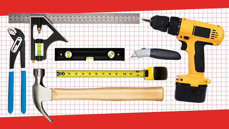 Must-have tools for every homeowner.