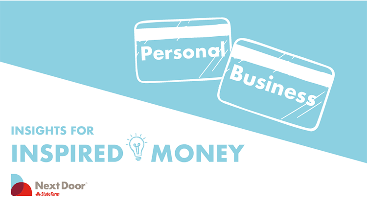 Separate your finances when starting a business