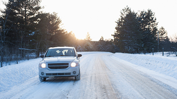 What winter weather means for driving.