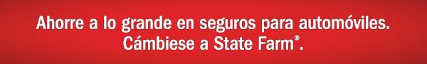 Ahorre a lo grande en seguros para automóviles. Cámbiese a State Farm®.