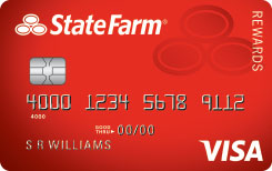 State Farm Rewards Visa selected