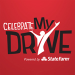 This is the State Farm Celebrate my Drive logo