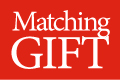 Matching Gift program logo