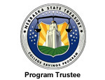 Nebraska State Treasury College Savings Program 'Program Trustee' Seal