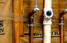 Prevén los daños ocasionados por el agua en la vivienda