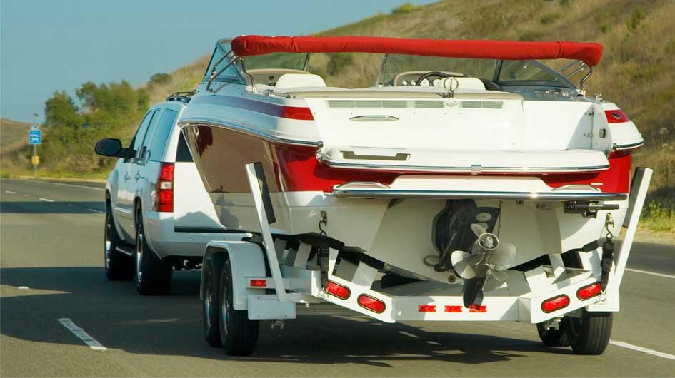 La seguridad del remolque de embarcaciones