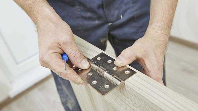 Bisagras de puerta más seguras para hacer que tu hogar sea menos vulnerable