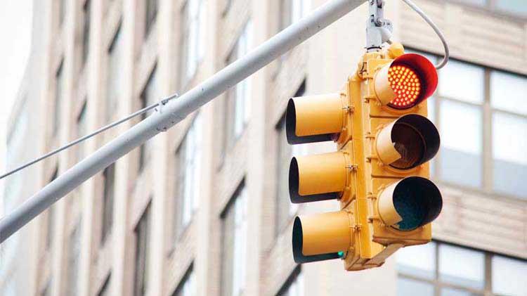 Red stoplight