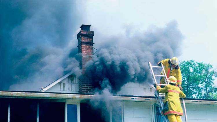 Qué hacer después de un incendio en el hogar
