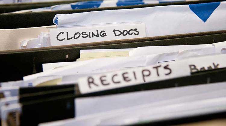 Documentos de cierre necesarios para la hipoteca