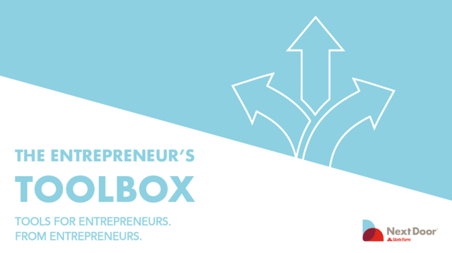 Caja de herramientas del emprendedor: Escoge deliberadamente las oportunidades que persigas