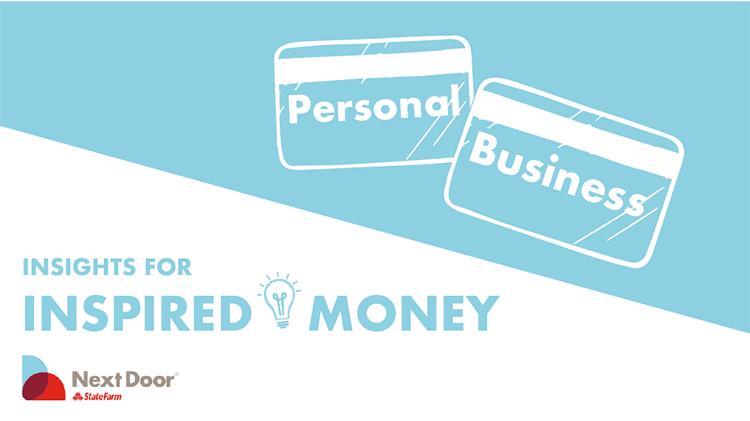 Separar las finanzas del negocio de las finanzas personales cuando empiezas una pequeña empresa